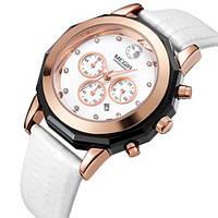 Женские наручные часы Megir 2042 Guaro. Стильные часы с хронографом