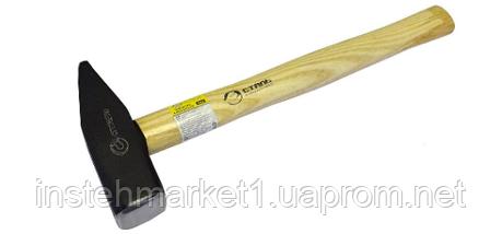 Молоток Сталь слесарный с деревянной ручкой 400 гр. (артикул 44026), фото 2