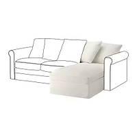 Секция кушетки для модульного дивана IKEA GRÖNLID Inseros белый 192.546.95