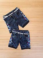 Детские джинсовые шорты на девчку 3-7 лет