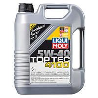 Моторное масло liqui moly top tec 4100 5w-40 5 литров