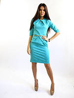 Платье бирюза Графиня