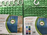 Штора для душу Зелена 180-180 (3-D), фото 2