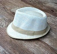 Панама шляпа челентанка на мальчика 53-54см