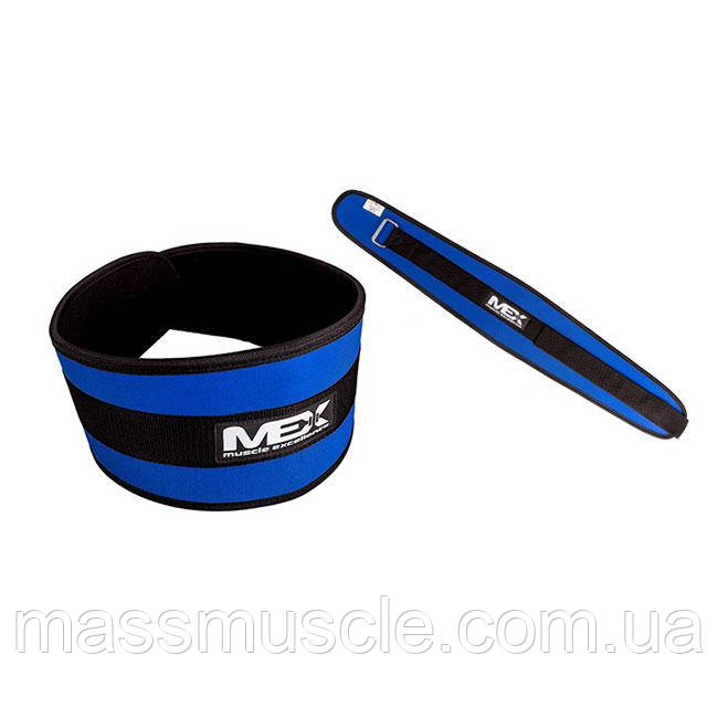 MEX Пояс Fit-N Wide Belt Blue