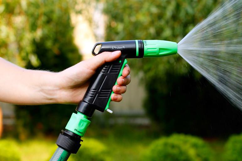 """Пистолет-распылитель для воды """"Presto 4 режима"""" пластик."""