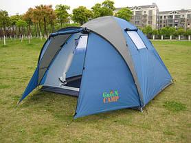 Палатка четырехместная Green Camp 1004, 335х250х180 см, фото 2