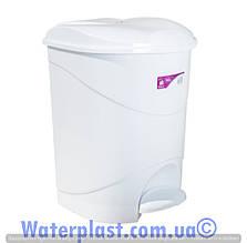 Ведро для мусора с педалью 12 литров,4557