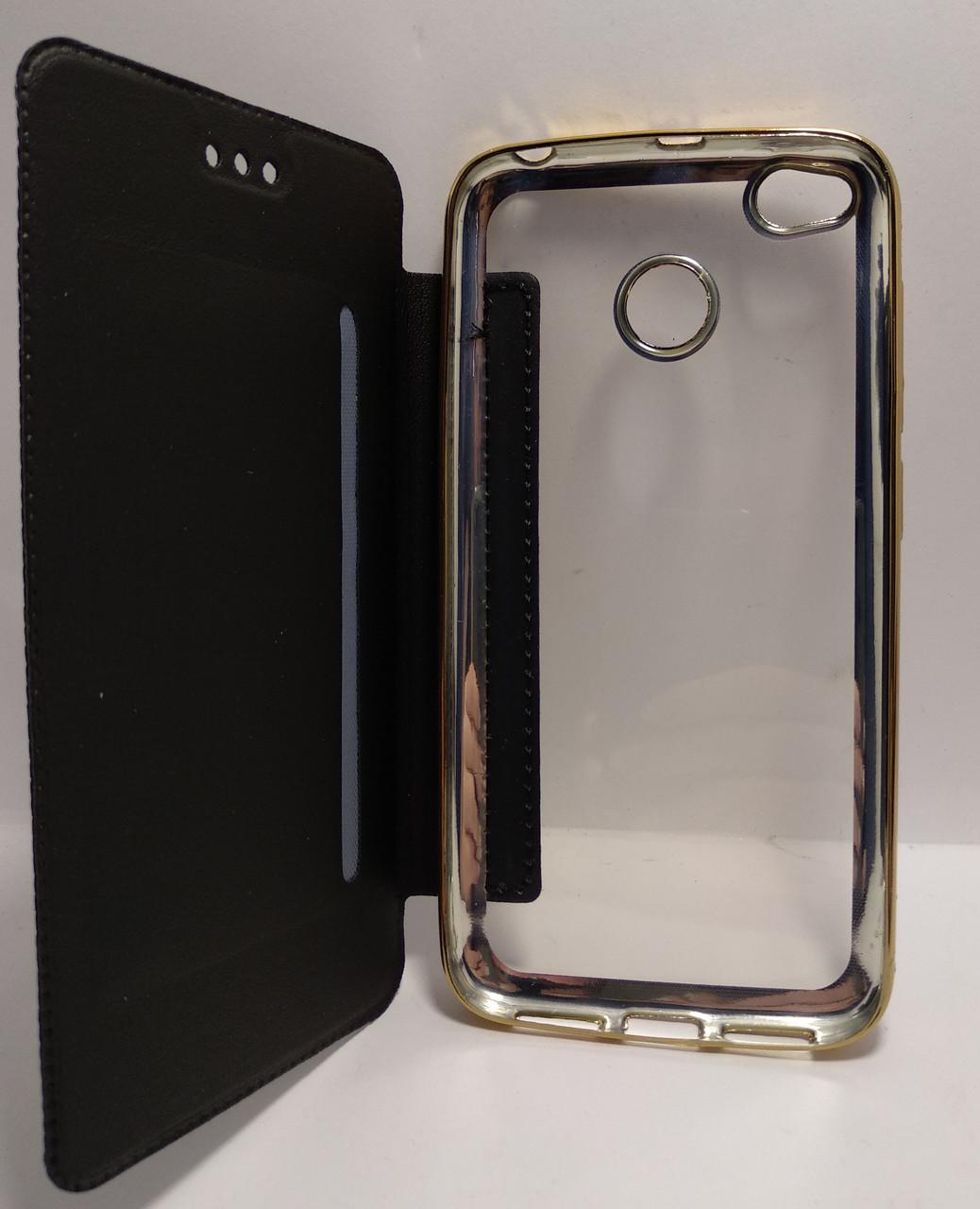 Чохол-книжка Royal Case для Xiaomi Redmi 4x ECO-шкіра чорний