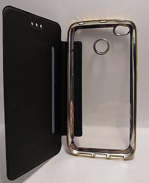 Чохол-книжка Royal Case для Xiaomi Redmi 4x ECO-шкіра чорний, фото 2