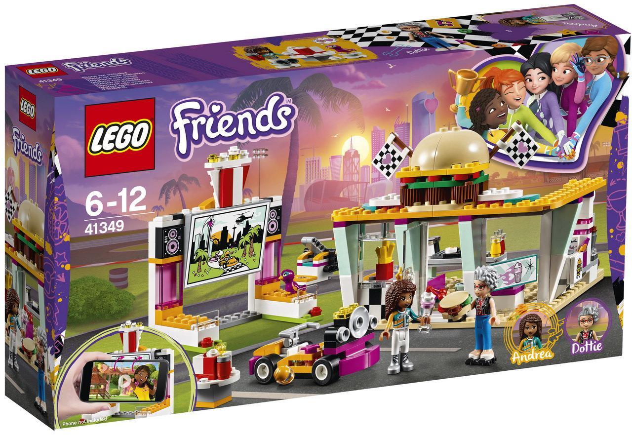 Lego Friends Передвижной ресторан 41349