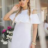 Платье майка сарафан с воланом на плечах Испанка, фото 3