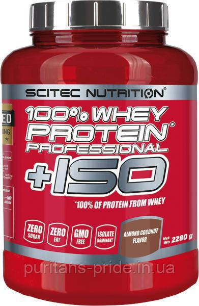 Scitec Nutrition 100 % Whey Protein Professional + ISO 2280 грам