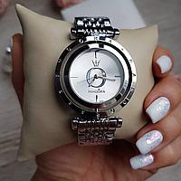 Женские металлические серебряные часы Pandora Silver, жіночий годинник Пандора