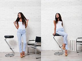 """Узкие женские брюки """"Dina"""" с карманами (4 цвета), фото 2"""