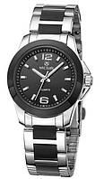 Женские наручные часы Megir 5006 Velure. Стильные часы с хронографом
