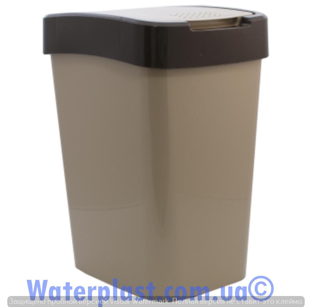 Ведро для мусора евро 25 литров,4282