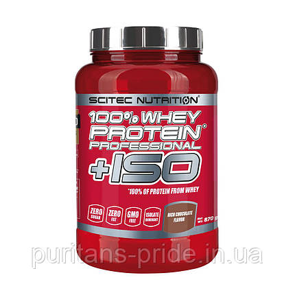 Scitec Nutrition 100% Whey Protein Professional +ISO (870 g) , фото 2