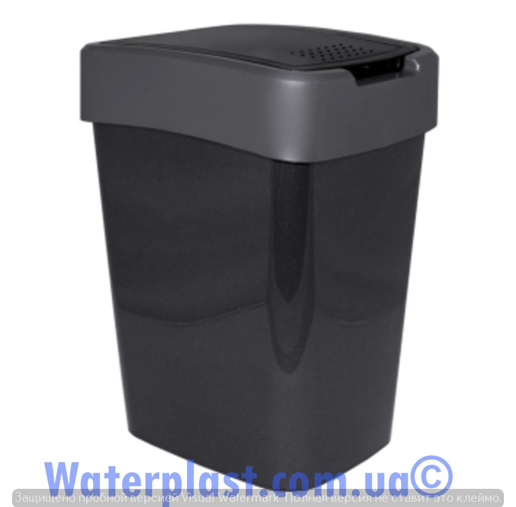 Ведро для мусора евро 25 литров,4281