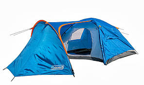 Палатка четырехместная Coleman 1009, 370х240х160 см, фото 2