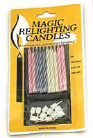 Свеча в торт Магическая 6307 Magic
