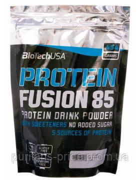 Комплексний протеїн BioTech (USA) Protein Fusion 85 454g, фото 2