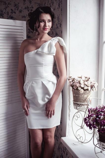 Купить короткое белое платье москва