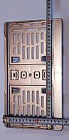 Рамка под американский номер 320мм. х145-160мм, хром