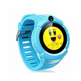 Детские часы-телефон с GPS WONLEX Q610S Blue