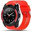 Часы-телефон Smart Watch V8 Red, фото 2