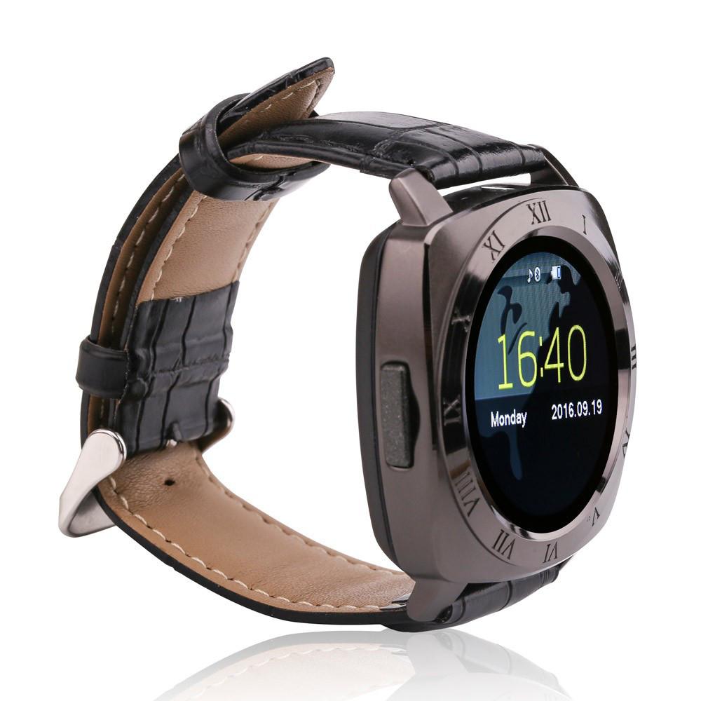 Умные часы Smart Noisy Watch X3 Classic Чёрные (hub_hJPj00019)