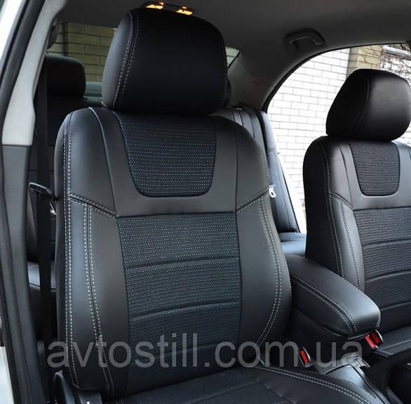 Чехлы на сидения Toyota Avensis | авточехлы Авенсис (2002-2008)