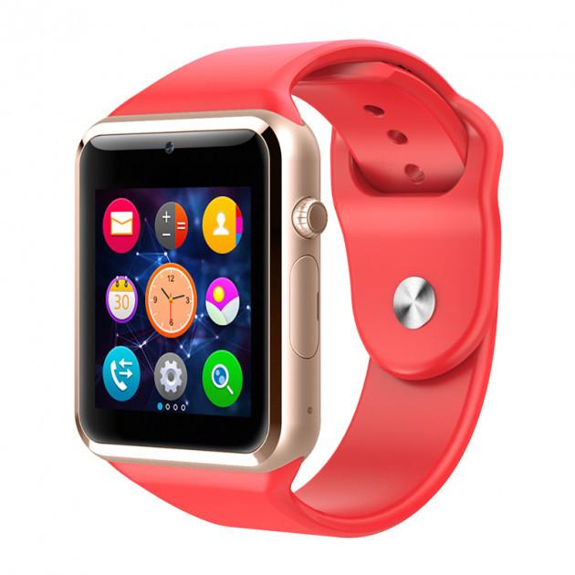 Умные смарт-часы Smart Watch A1 Red