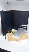Солнечная панель CE 10W5V + Повер банк 20800mA копия (20800mA реальная емкость), фото 1