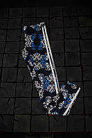 Женские лосины Adidas.Узоры/три полоски