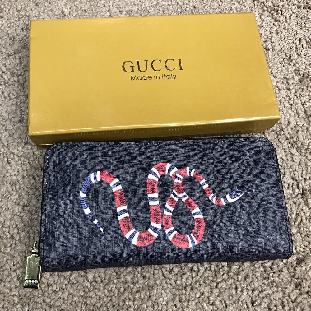 9f61d6ece0d8 Мужской портмоне кошелек Gucci гуччи черный с принтом: продажа, цена ...