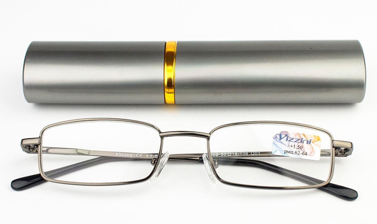 Очки для чтения в футляре Vizzini 03-008-Q01