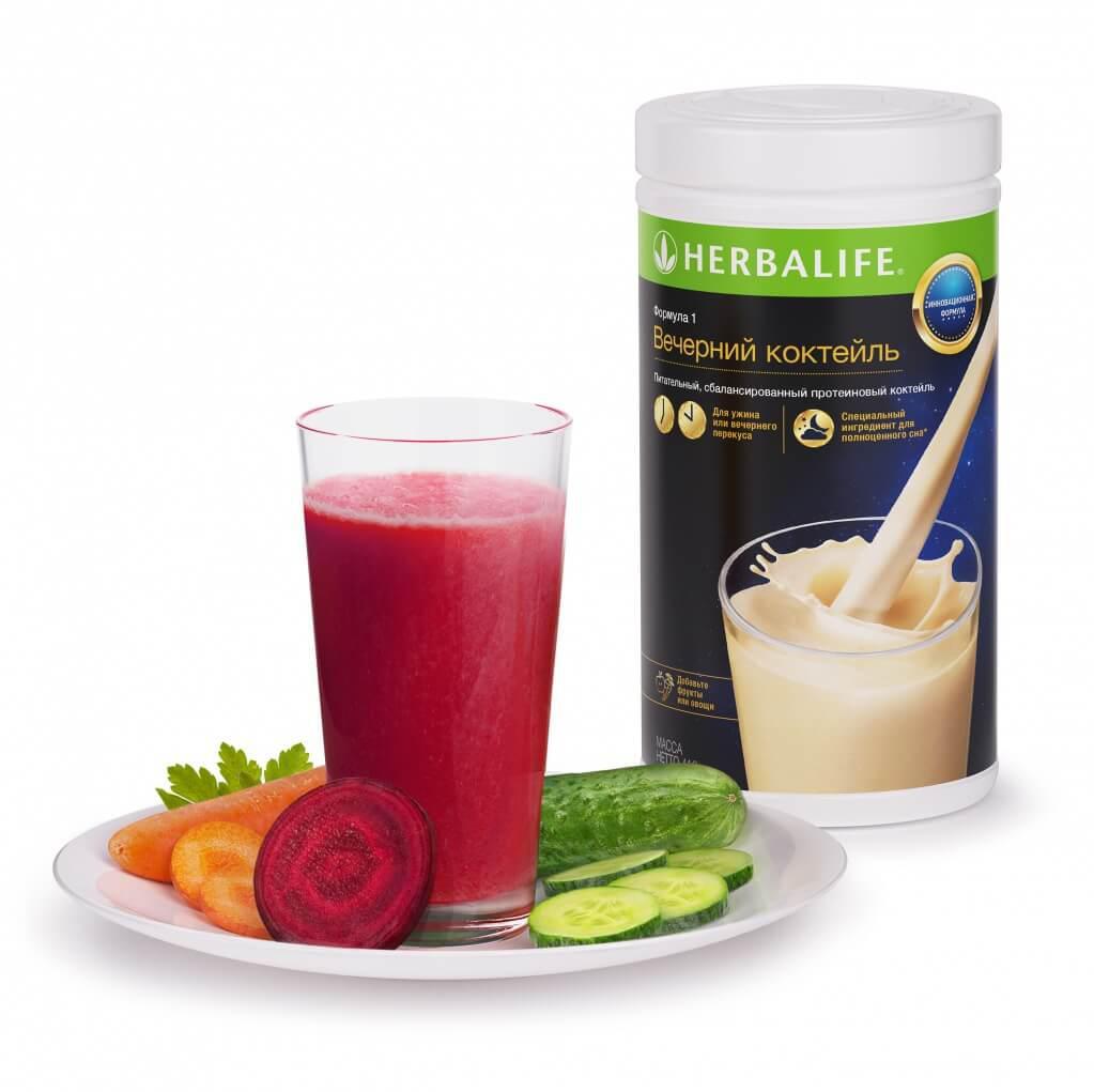 Вечерний коктейль Herbalife формула 1