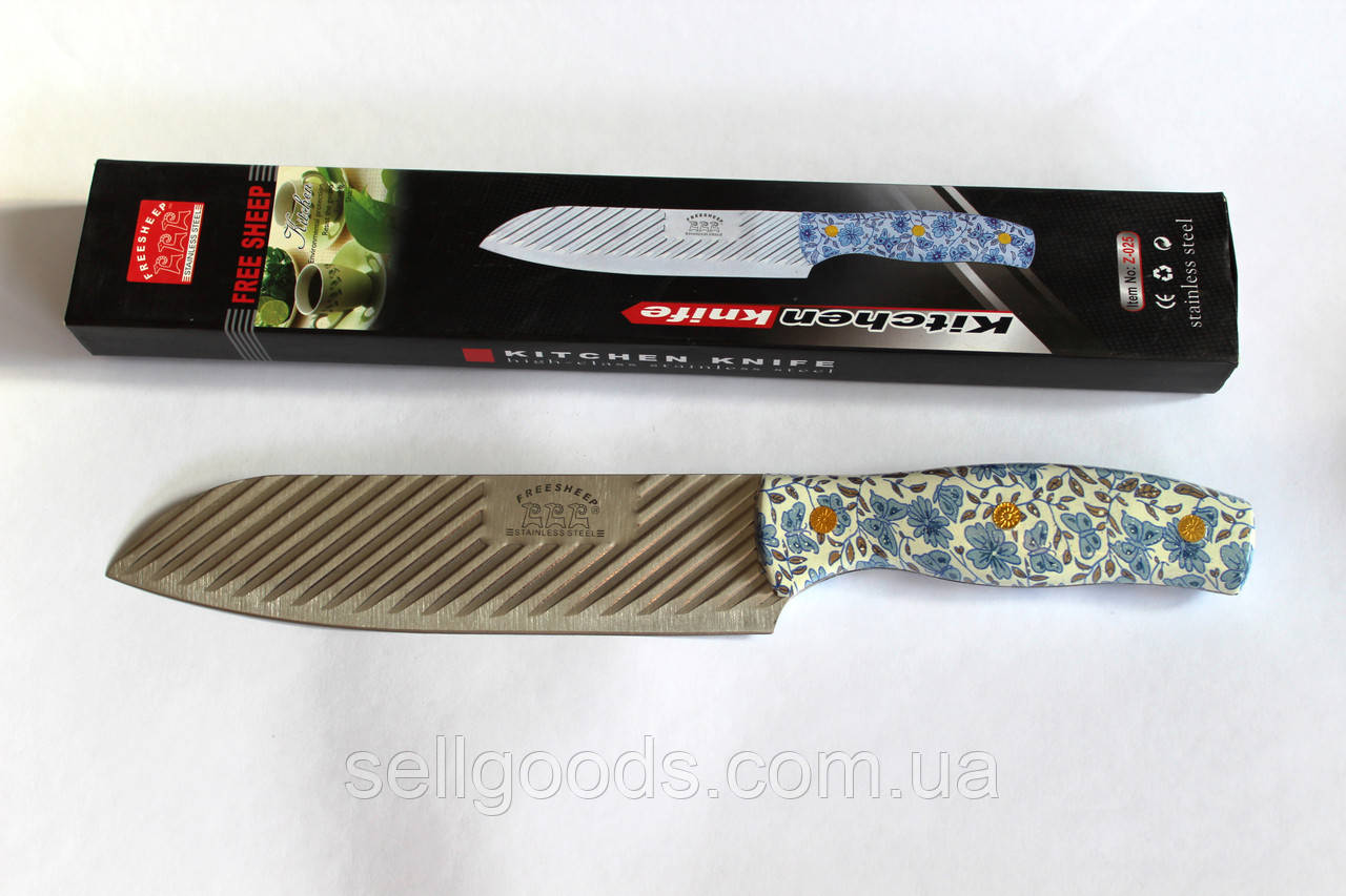 Нож нерж большой поварской