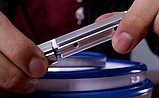 Светодиодная лента NEON 220В JL 2835-120 B IP65 синий, герметичная, 1м, фото 6