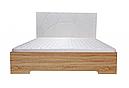Ліжко з ДСП/МДФ в спальню Міа 160*200 з пружинним підйомним механізмом Німан, фото 2
