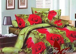 Семейный комплект постельного белья с Розами, Поликоттон