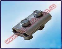 Плашечный алюминиевый зажим ПА 1-1