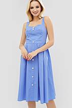 Женское расклешенное платье-сарафан из хлопка (Londis crd), фото 2