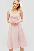 Женское расклешенное платье-сарафан из хлопка (Londis crd)