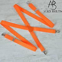 Подтяжка взрослая 25-ка X унисекс (оранжевая)- купить оптом в Одессе