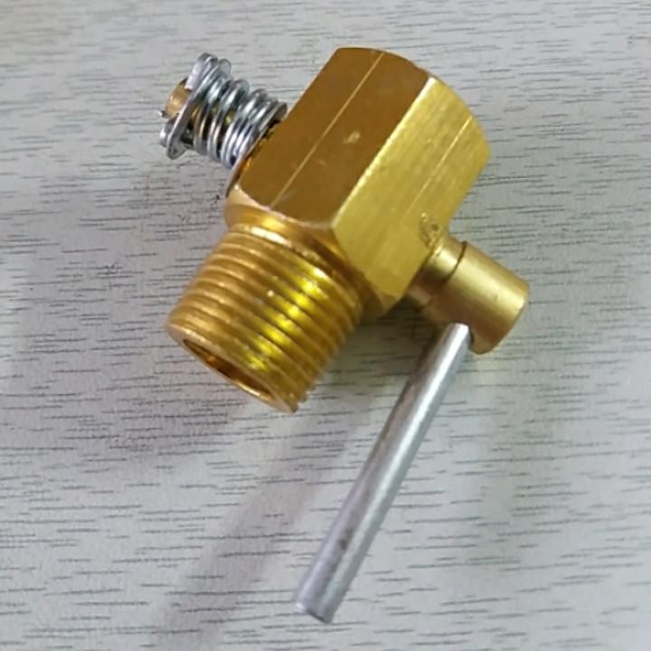 Кран головки слива охлаждающей жидкости R175, R180