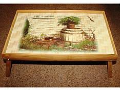 Бамбуковый раскладной столик 4вида 2001-2