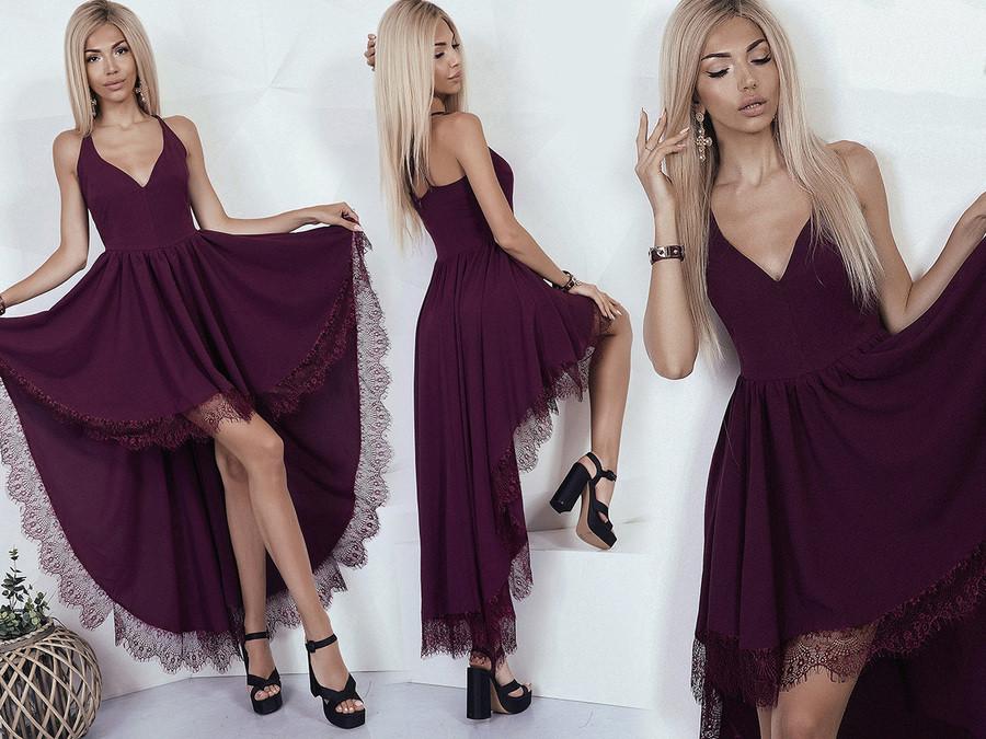 628ccffcc6168fb Платье со шлейфом - All You Need - прямой поставщик женской одежды оптом и в  розницу
