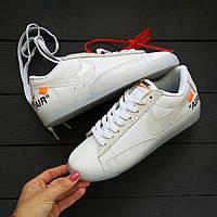 Чоловічі кросівки Nike off White, Репліка, фото 1